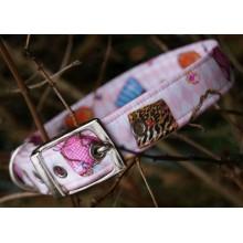 Girly Handbags Fabric Dog Collar