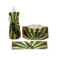 H2FidO Travel Bowls and Bottle- Sun Setter
