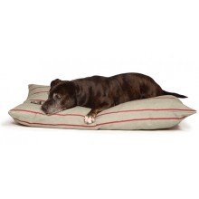 Deep Duvet Dog Bed - Heritage Herringbone