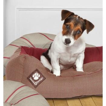 Snuggle Dog Bed - Heritage Houndstooth