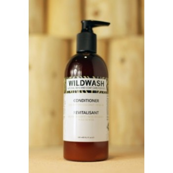 WildWash pH Balanced Natural Pet Conditioner - Shea Butter, Coconut and Rose Oil
