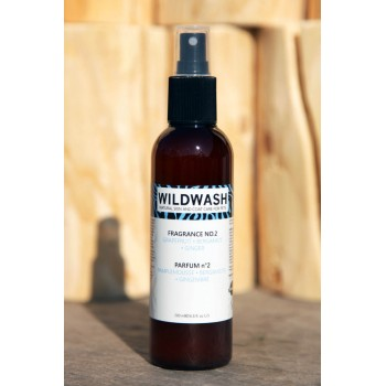 WildWash pH Balanced Dog Perfume Fragrance No.2  -  Grapefruit, Bergamot and Ginger