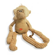Melvin the Monkey Natural Soft Dog Toy