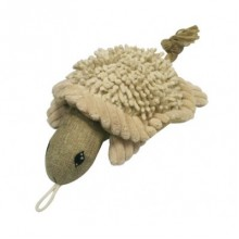 Timothy the Natural Turtle Soft Dog Toy