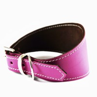 Soft Leather Hound Collars