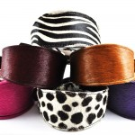 Cowhide Hound Collars