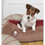 Snuggle Dog Bed - Heritage Houndstooth
