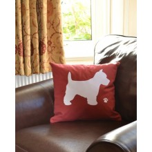 Westie Dog Terrier Cushion Inc. Cushion Pad