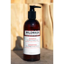 Wildwash Dog Shampoo For Dark Or Greasy Coats - Mandarin, Sweet Orange and Fennel