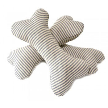 Soft Dog Bone Toy - Striped