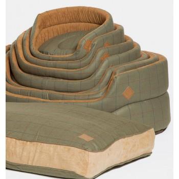 Box Duvet Dog Bed - Tweed