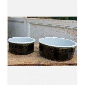 Handmade Ceramic Dog Food Bowl