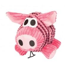 Parker the Pig Natural Soft Dog Toy